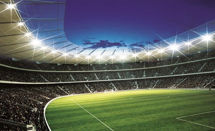 Football Wall Mural Football Stadium Photo Wallpaper Boys: Football Stadium Wall Murals For Wall